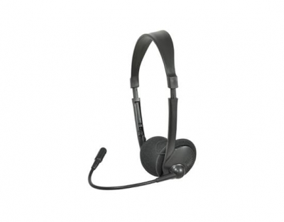 AV Link Multimedia Headset with Boom Microphone